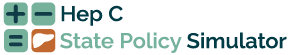 HepC State Policy Simulator website